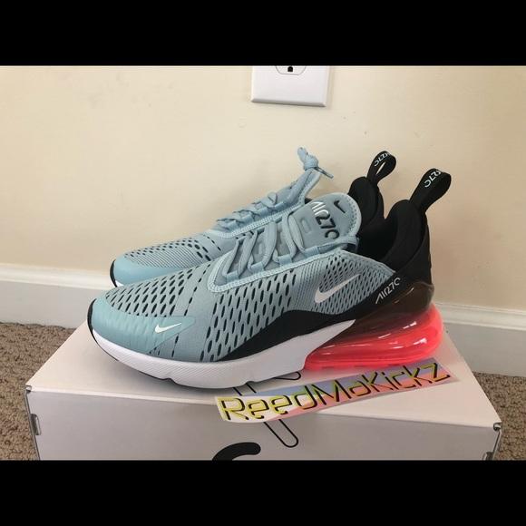 le scarpe nike air max 270 oceano blu donne confezioni poshmark bliss
